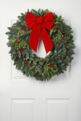 Christmas Decoration「Christmas Wreath」:スマホ壁紙(3)