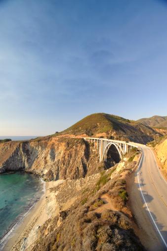 Bixby Creek Bridge「Big Sur in Coastal California」:スマホ壁紙(15)