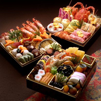 おせち「Osechi -Japanese traditional food for the new year」:スマホ壁紙(4)