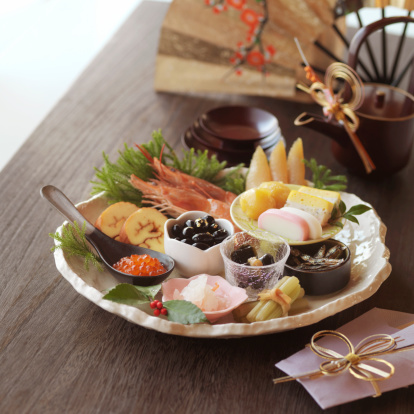 Sake「Osechi -Japanese traditional food for the new year」:スマホ壁紙(18)