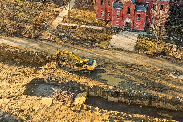 Place of Burial「New York City Buries Dead On Hart Island Amid Coronavirus Pandemic」:写真・画像(3)[壁紙.com]