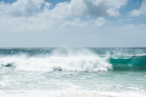 Water's Edge「Porthcurno wave」:スマホ壁紙(6)