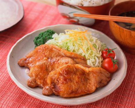 Ginger - Spice「Grilled pork with ginger」:スマホ壁紙(11)