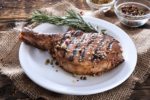 Char-Grilled「Grilled pork chop with spices」:スマホ壁紙(6)