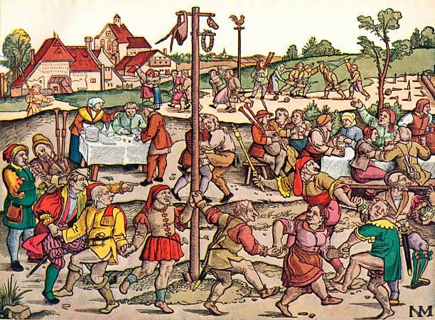 Villagers Celebration, c1530, 1949:ニュース(壁紙.com)