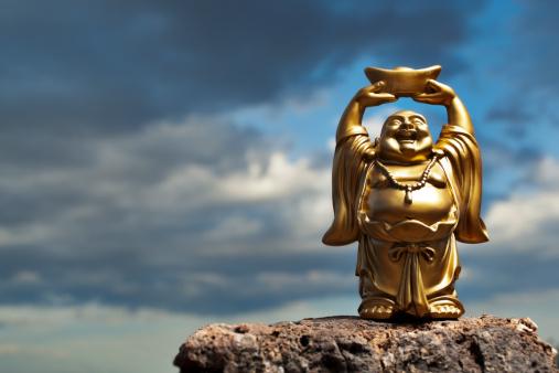 Buddha statue「ゴールドプロスペリティ Buddha」:スマホ壁紙(17)