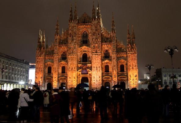 Road Signal「Duomo Of Milan Christmas Lights」:写真・画像(11)[壁紙.com]