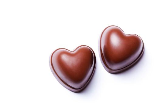 チョコレート「チョコレート 2 つのハート」:スマホ壁紙(13)
