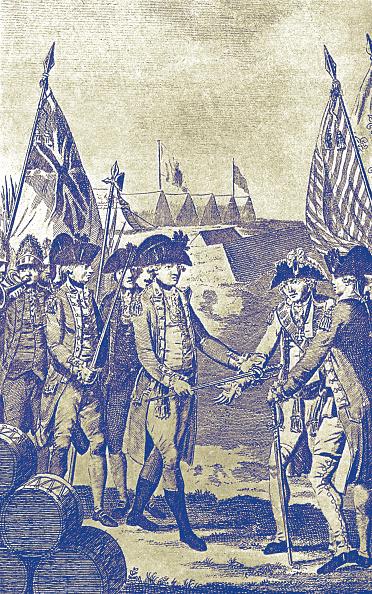 Surrendering「Surrender of Lord Cornwallis at Yorktown」:写真・画像(10)[壁紙.com]