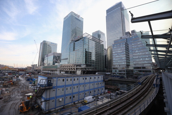 Construction Industry「Construction Of Canary Wharf's Crossrail Station」:写真・画像(10)[壁紙.com]