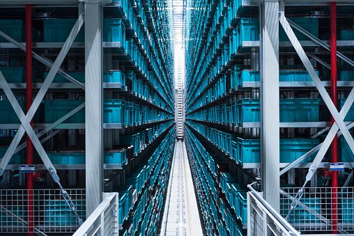Corporate Business「Modern automatized high rack warehouse」:スマホ壁紙(10)