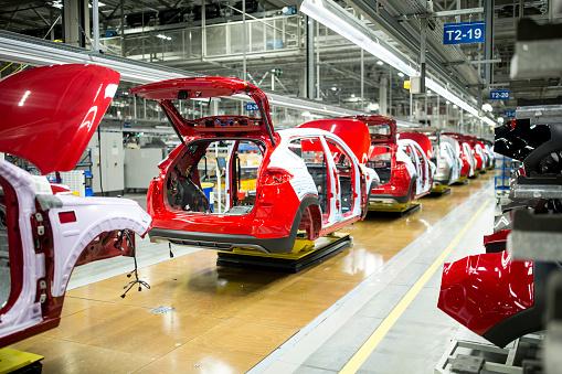 ������「Modern automatized car production in a factory」:スマホ壁紙(18)