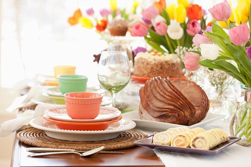 Appetizer「Easter Ham Dining Table」:スマホ壁紙(14)
