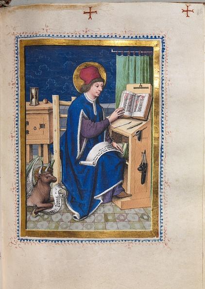 Preacher「Gospel Book With Evangelist Portraits: Saint Luke」:写真・画像(12)[壁紙.com]