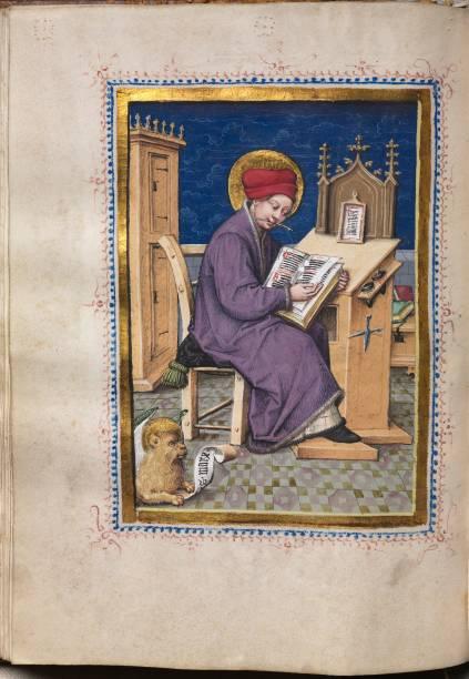 Gospel Book With Evangelist Portraits: Saint Mark:ニュース(壁紙.com)