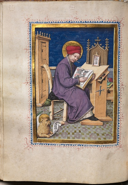 Preacher「Gospel Book With Evangelist Portraits: Saint Mark」:写真・画像(8)[壁紙.com]