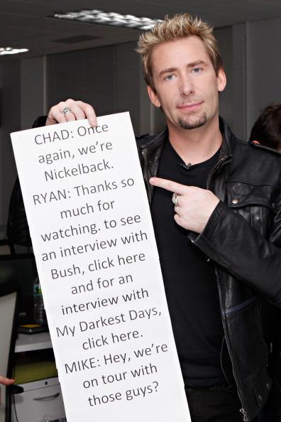 ニッケルバック「Nickelback Visits fuse's 'News Hit'」:写真・画像(19)[壁紙.com]