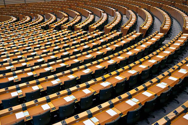 Semi-Circle of Empty Seats European Parliament Brussels:スマホ壁紙(壁紙.com)