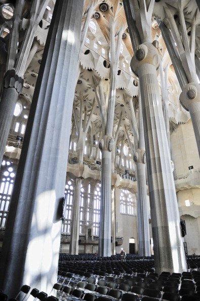 Sagrada Familia - Barcelona「Preparations Ahead Of Pope Benedict XVI's Visit」:写真・画像(3)[壁紙.com]