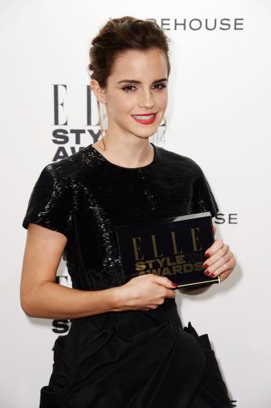 エマ・ワトソン「Elle Style Awards 2014 - Winners Room」:写真・画像(9)[壁紙.com]