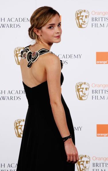 エマ・ワトソン「The Orange British Academy Film Awards 2009 - Press Room」:写真・画像(19)[壁紙.com]