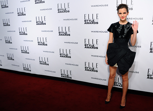 エマ・ワトソン「Elle Style Awards 2014 - Red Carpet Arrivals」:写真・画像(14)[壁紙.com]