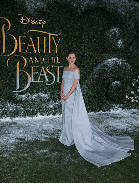 エマ・ワトソン「'Beauty And The Beast' - UK Launch Event」:写真・画像(8)[壁紙.com]