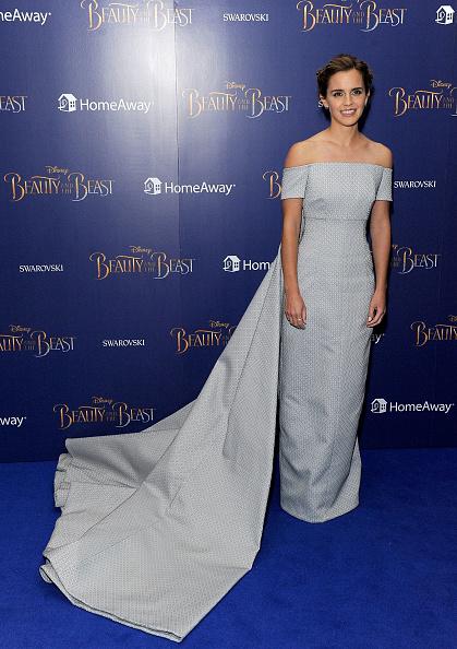 エマ・ワトソン「Disney's 'Beauty And The Beast' - UK Launch Event At Odeon Leicester Square」:写真・画像(2)[壁紙.com]