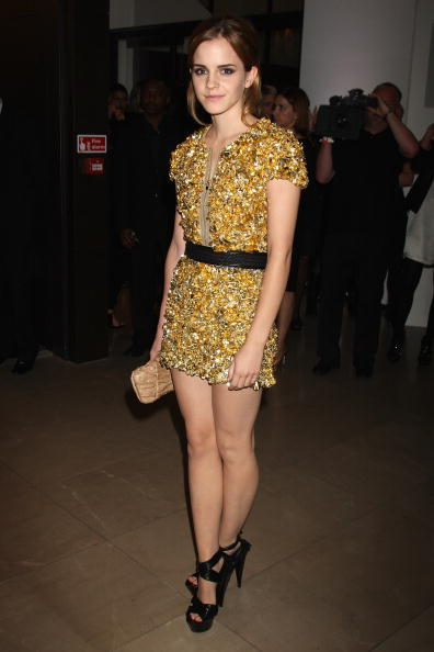 エマ・ワトソン「Burberry Afterparty: Spring/Summer 2010 - London Fashion Week」:写真・画像(2)[壁紙.com]