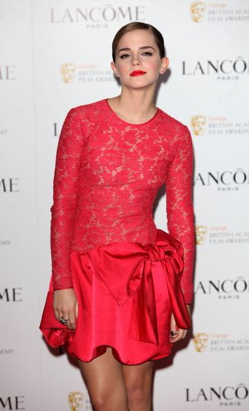 エマ・ワトソン「Lancome Pre-BAFTA Party - Arrivals」:写真・画像(2)[壁紙.com]