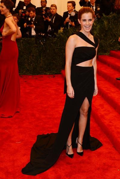 エマ・ワトソン「'PUNK: Chaos To Couture' Costume Institute Gala」:写真・画像(13)[壁紙.com]