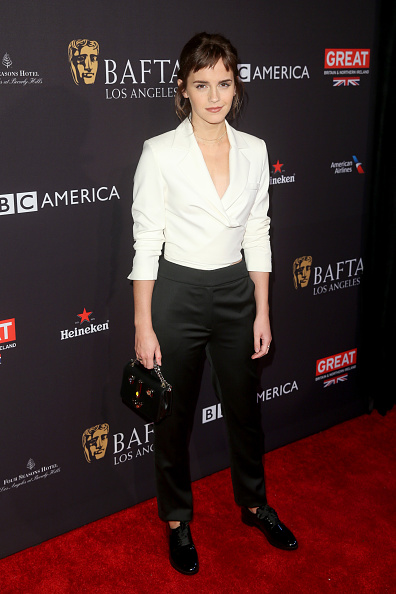 エマ・ワトソン「The BAFTA Los Angeles Tea Party - Arrivals」:写真・画像(3)[壁紙.com]