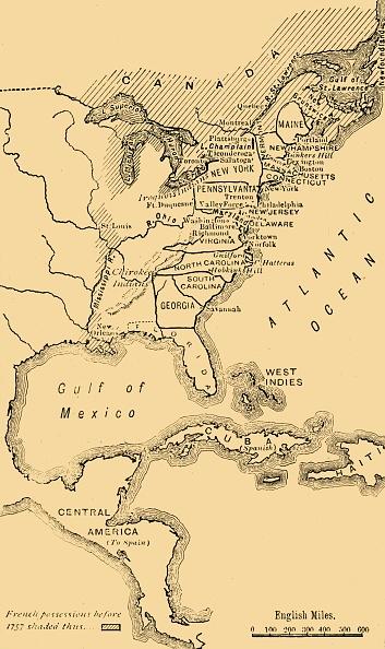 Colonial Style「Map Of North America」:写真・画像(12)[壁紙.com]