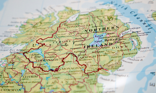 Northern Ireland「map of northern ireland」:スマホ壁紙(2)