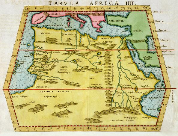 Tudor Style「Map Of North Africa circa 1580s」:写真・画像(16)[壁紙.com]
