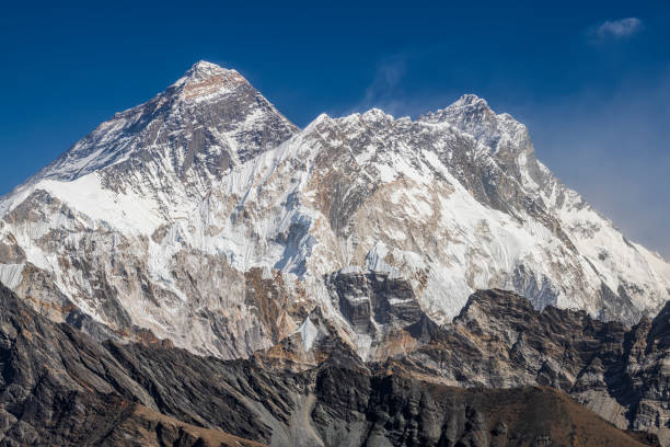 Mount Everest and Lhotse from Renjo La, Himalaya's 45 MPix panorama:スマホ壁紙(壁紙.com)