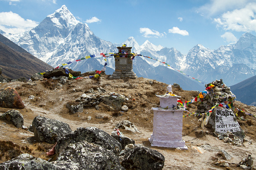 Ama Dablam「Mount Everest Climber's Memorial」:スマホ壁紙(18)