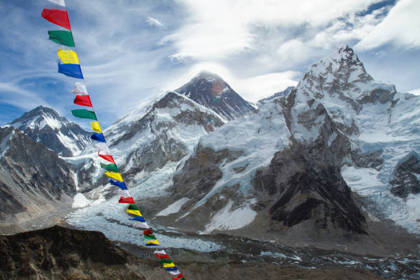 Mount Everest from Kala Patthar:スマホ壁紙(壁紙.com)