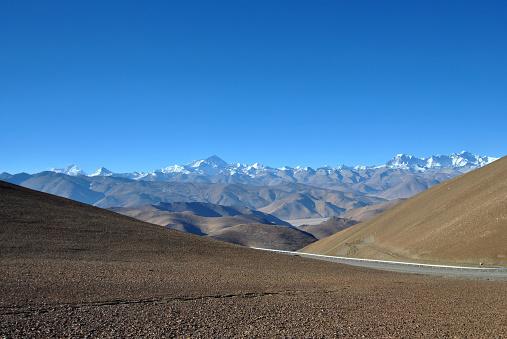 Himalayas「Mount Everest and Himalayas, Tibet, China」:スマホ壁紙(6)