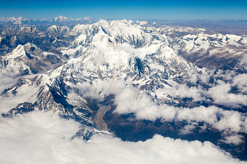 Himalayas「Mount Everest, Himalaya, Aerial View」:スマホ壁紙(16)