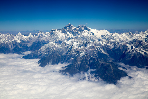 Himalayas「Mount Everest, Himalaya, Aerial View」:スマホ壁紙(10)