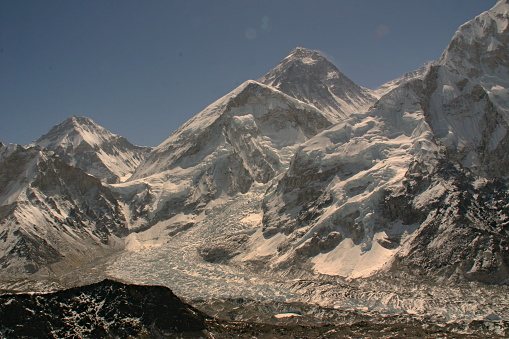 Kala Pattar「Mount Everest and glacier, view from Kala Pattar」:スマホ壁紙(15)