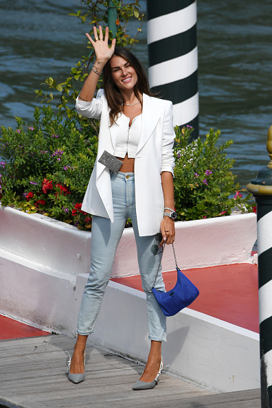 Christian Dior Shoe「Celebrity Excelsior Arrivals During The 77th Venice Film Festival - Day 3」:写真・画像(0)[壁紙.com]