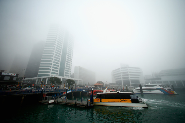 Bedding「Fog Settles Around Auckland City」:写真・画像(1)[壁紙.com]
