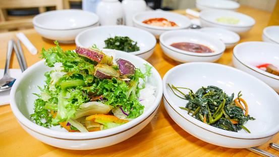 済州島「Jeju island traditional food.」:スマホ壁紙(18)