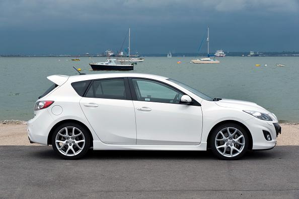 Side View「2012 Mazda 3 MPS」:写真・画像(10)[壁紙.com]