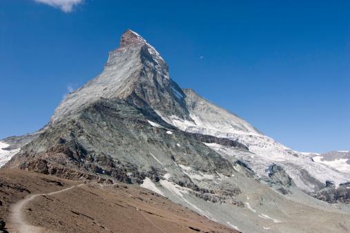 スイス「ハイキングをし、マッターホルン」:スマホ壁紙(17)