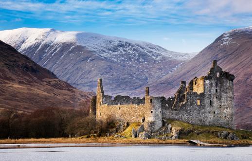 Castle「Kilchurn Castle, Loch Awe」:スマホ壁紙(16)