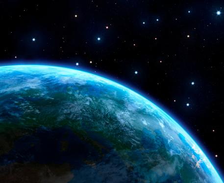 地球「アース」:スマホ壁紙(12)