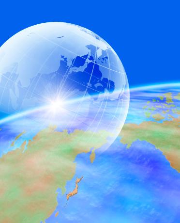 世界地図「Earth」:スマホ壁紙(19)